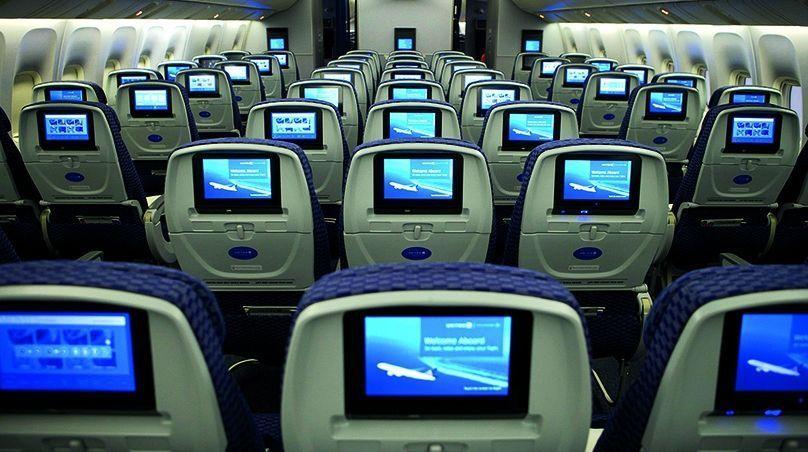 Una tendencia a la desaparición de las pantallas de entretenimiento en los aviones